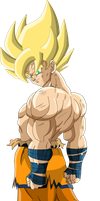 Super Saiyan Goku (Frieza Saga)  MLL Redesign by OWC478