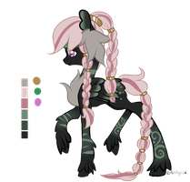 :Rare Valkyries Adopt: Davine (Closed) by AzrealRou