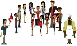 Total Drama Disasters Cast by CutiePieMarzi