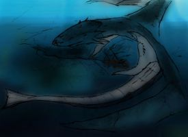 Old Dragon from the Deep. by rawis007