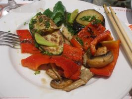 Grilled vegetables by kawano-katsuhito