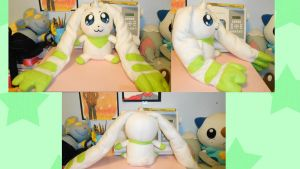 Terriermon Plush 2 by NoxxBunny
