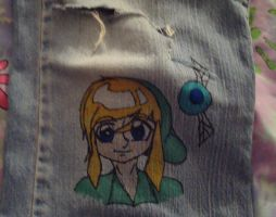 Link On My Jeans by Haruka--chan