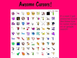 Awesome Cursors by Bexgirl2803