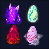 Egg Adopts (CLOSED) by Astaras-Adopts