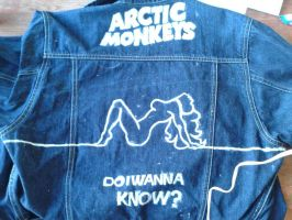 Arctic Monkeys custom made do i wanna know? jacket by chocolatwolf