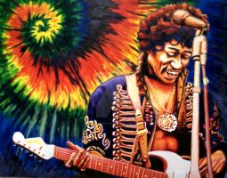 Jimi Hendrix by ZombieAshley7