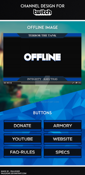 Twitch Channel Design by PaulDokr