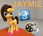 (DL) Jaymie by Out-Buck-Pony