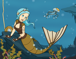 SeaGears - Mechanical Fish - Disney Style by Mibu-no-ookami