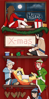 Merry Christmas by sagibagi