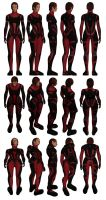 Mass Effect, Colossus Armour Light, Female Ref. by Troodon80