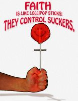 Faith Is Like Lollipop Sticks by sethness