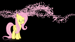 Fluttershy wallpaper V.1 by XVanilla-TwilightX