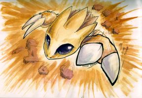 Sablaireau... well Sandslash by UmbreoNoctie