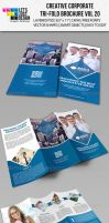 Creative Corporate Tri-Fold Brochure Vol 20 by jasonmendes