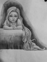 Tangled: Little Rapunzel by Biro-boi