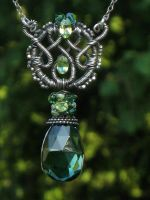 Celtic Oracle Necklace by AniqueDesigns