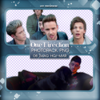 +Photopack png de One Direction- video mm. by MarEditions1