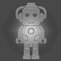 Chibi Cyberman by SuperAshBro