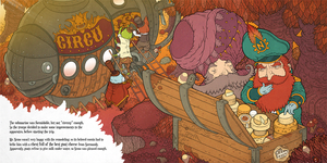 Pages from Underwater Circus by Felideus