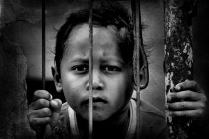 behind the fence by djati