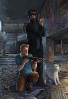 Tintin in Tchernobyl by KristinaGehrmann