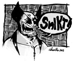 SNIKT!!!! by Cosmic-Rocket-Man