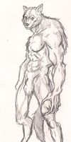 Crappy Werewolf by ImmaculateReprobate