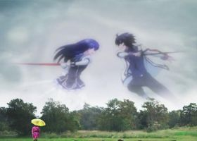 Ikki vs Ayase Wallpaper by weissdrum