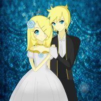 For Mai-Cama - Romeo and Cinderella (Rin x Len) by PenguRin