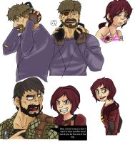 TLoU Sketches 3 Compilation by EternASH