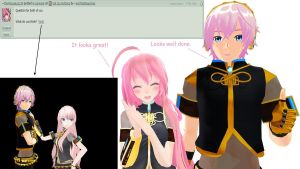 Question 15 for Luka and Luki by AskTheMegurines