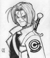 Trunks Sketch by Kenpudiosaki