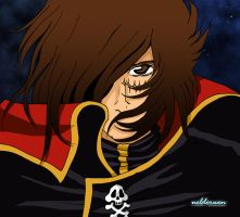 Captain Harlock by Neldorwen