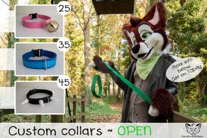 Custom Collar Commissions - OPEN by FurryFursuitMaker