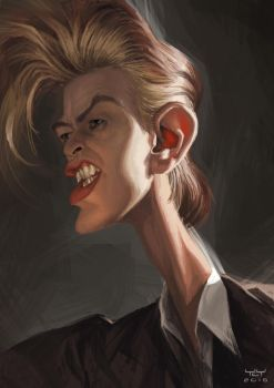 David Bowie by YoannLori