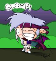 The Glomping - 2 of 4 by evilchibiminion