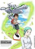 Eureka 7 - New Horizon by geoffHeaven