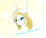 Singnig dragoness cover by HeroHeart001