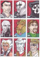 Star Wars G6 cards batch 7 by NORVANDELL