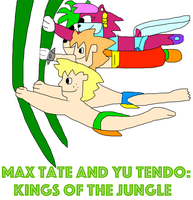 Max Tate and Yu Tendo- Kings Of The Jungle by adamRY
