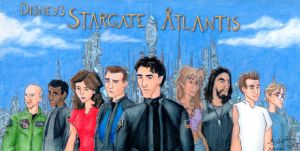 Disney's Stargate Atlantis by Nebulan