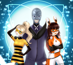 Villains trio! by LoloHime