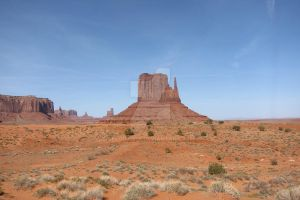 Desert - Monument Valley, view 3 by elodie50a