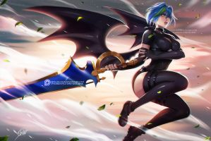 Commission: Xenovia Quarta by OlchaS