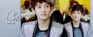 Exo-M Chen banner by KpopGurl