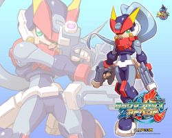 Megaman ZX Advent by ZeroSaberX