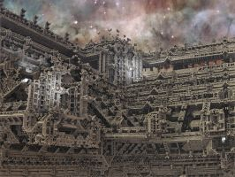 Angkor Wat in Space by Dr-Pen