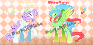 Sweet and Sour Adopts  One closed Points/Cash by ParfaitPichu